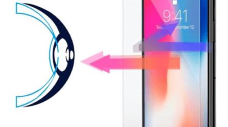 Le verre trempé anti lumière bleue pour iPhone XR